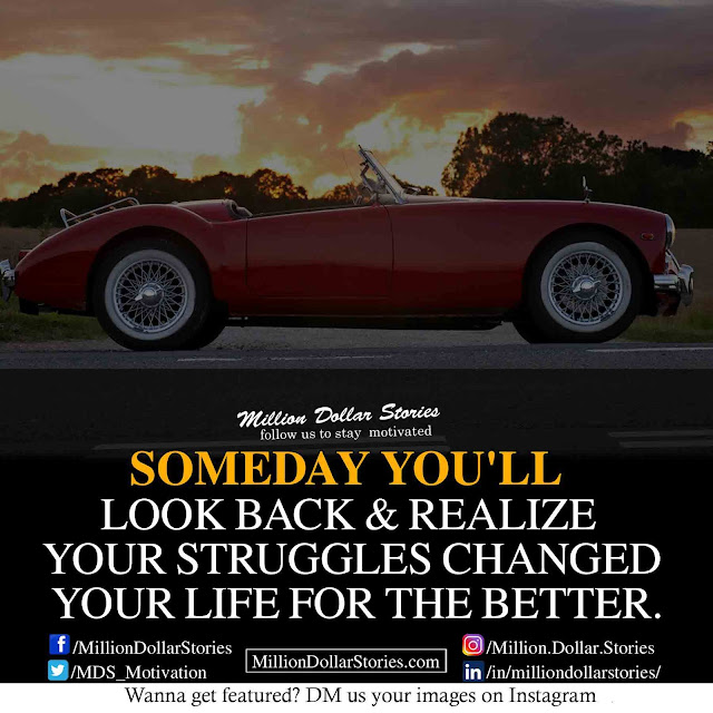 someday you'll realize quotes Motivational Morning Quotes Image