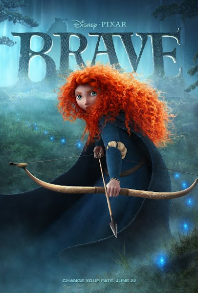 Poster Of Brave 2012 720p BRRip Dual Audio Full Movie Download