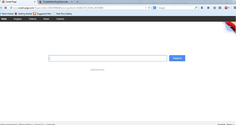 Langkah mudah hapus Sweet-Page.Com Browser Hijacker dari komputer