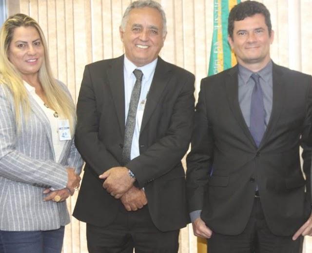 Senador Canedo: Reunião no Ministério da Justiça prevê investimentos no município