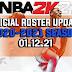 NBA 2K21 OFFICIAL ROSTER UPDATE 01.12.21 LATEST TRANSACTIONS + INJURY UPDATES