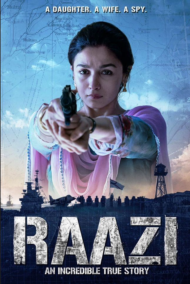 Raazi (2018) Hindi 720p BluRay 1GB Download
