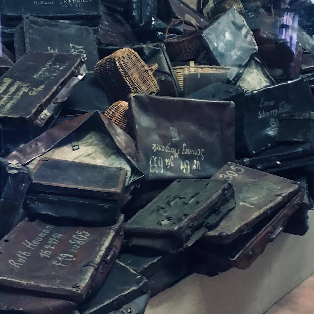 Personal belongings of the prisoners at Auschwitz : My Visit To Auschwitz (and why you should visit too)