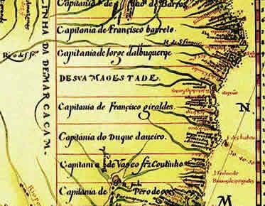 Capitanias Hereditárias no Brasil Colonial