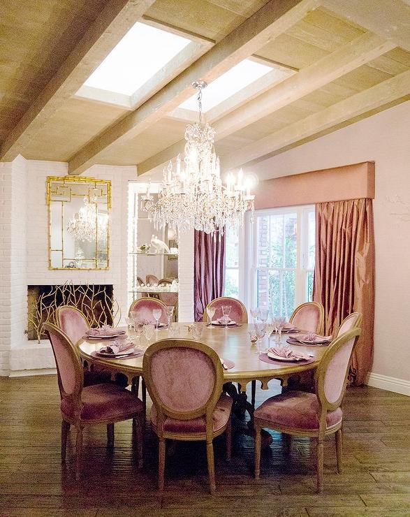 Decor Inspiration Powdery Pink Interior Decor  Cool Chic