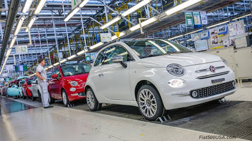 Fiat 500 Production Line