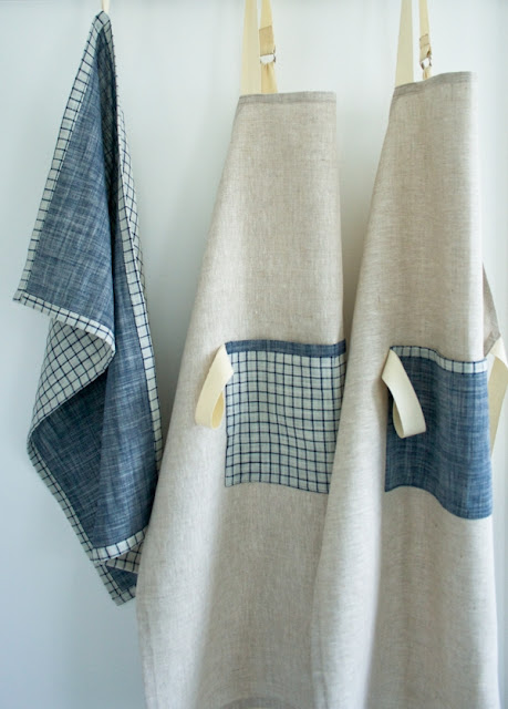 how to sew an linen apron