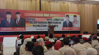 Ingin Indonesia Adil Dan Makmur, Kyai Di Kab Cirebon Dukung Prabowo - Sandi