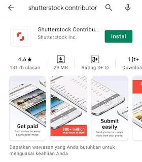 aplikasi shutterstock contributor playstore android