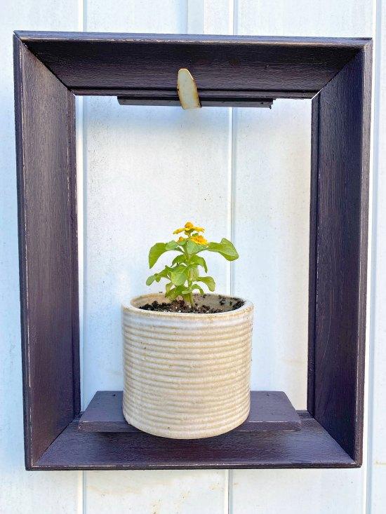 Decorating Garden Junk and a DIY Wooden Frame