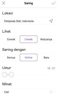 aplikasi pencari jodoh android -setting lokasi badoo