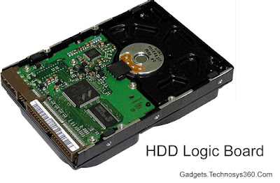 Hard Disk Physical Structure - Logic Board