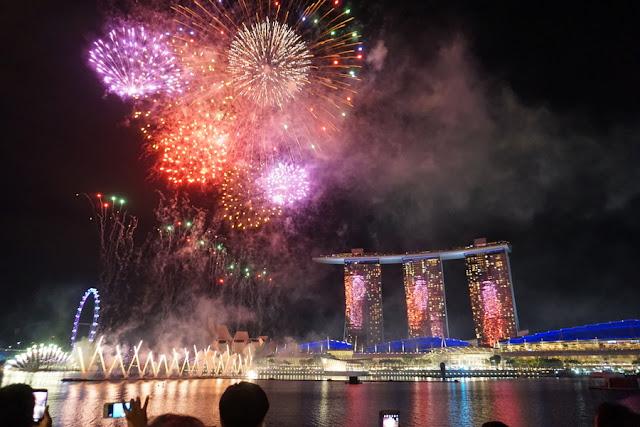 Ano Novo em Cingapura