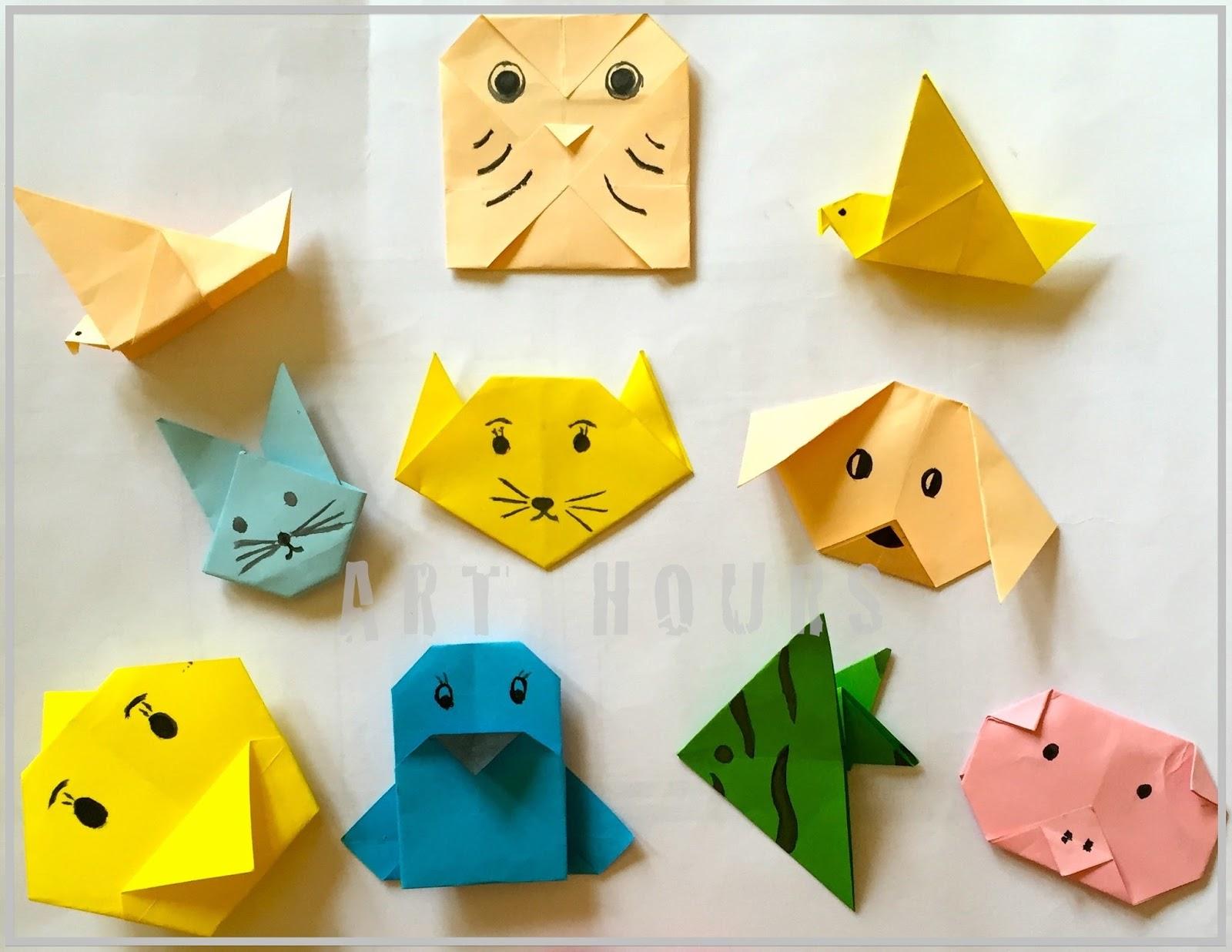 Beginner Easy Origami Animals For Kids Jadwal Bus