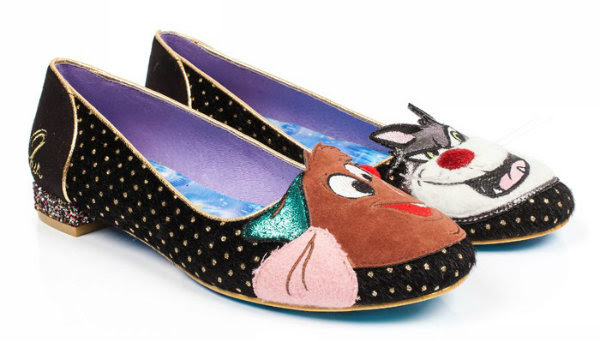 Irregular Choice Disney Cinderella lucifer & gus