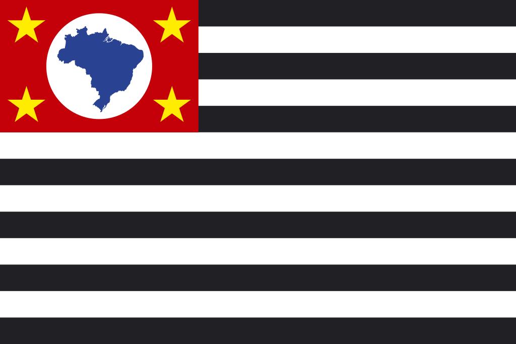 Bandeira do Estado Brasileiro de São Paulo