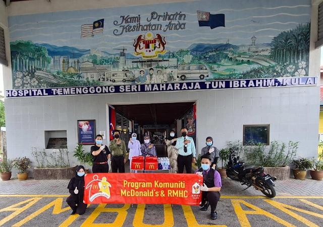 McDonald's Malaysia Taja Makanan Kepada Petugas Kesihatan