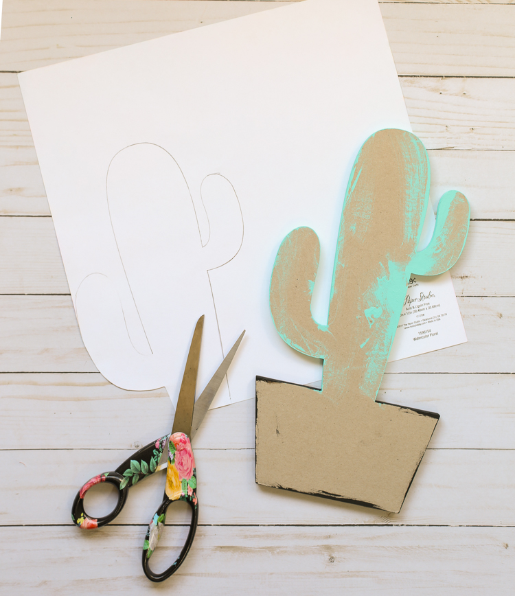Chipboard Shape Craft