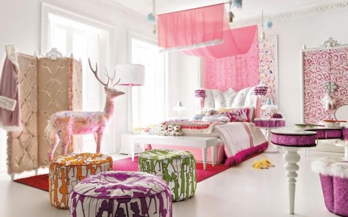 Hogares frescos 100 dise os de habitaciones para ni as - Habitacion para nina ...