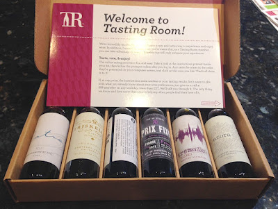 The Tasting Room Wine Subscription Review - The Tasting Kit!