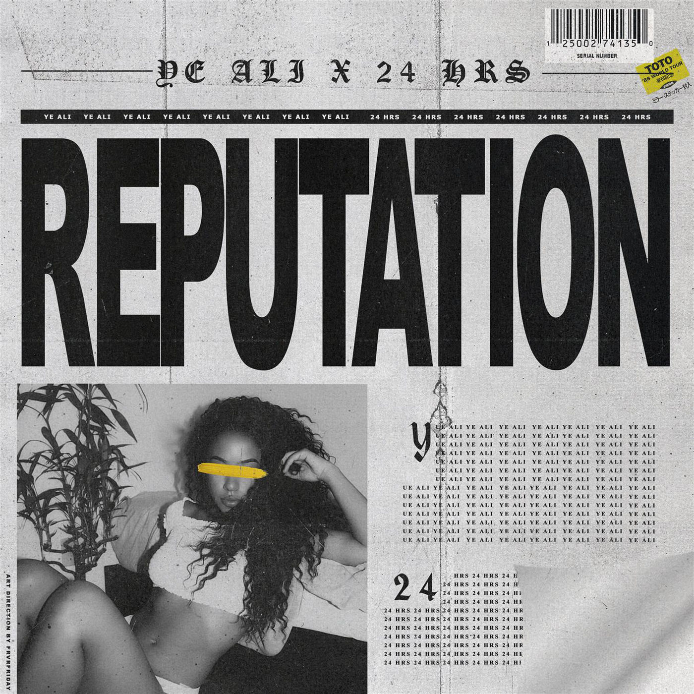 Ye Ali & 24hrs - Reputation - Single Cover