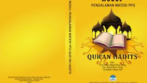 Modul Pendalaman Materi PPG Kemenag Mapel Al-Qur'an Hadits 2018