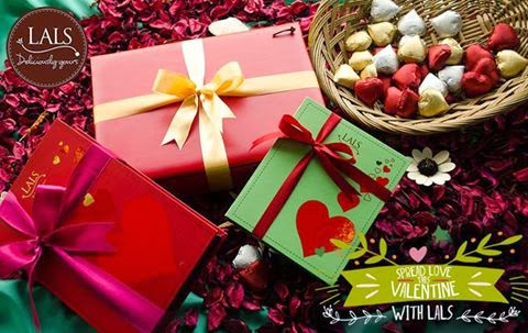 Lal's chocolate gifts valentine's