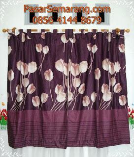 toko gorden motif natural minimalis coklat murah kain panca
