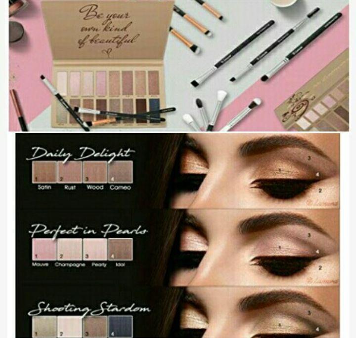 Lamora Eyeshadow Makeup Palette for Women - 16Color Facial Eyebrow Beauty Kit