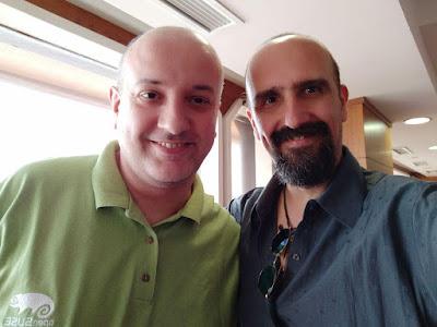 Dr. Luis Falcón, MD and DVM Efstathios Iosifidis