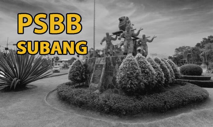 6 Mei Subang dan Seluruh Jabar Bakal PSBB