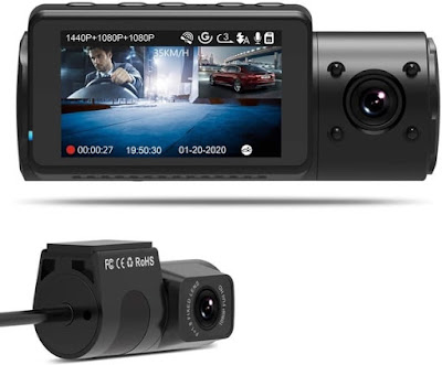 Vantrue N4 1440P+1080P Dash Car Camera
