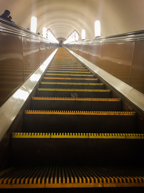 Metroul din Moscova, Rusia