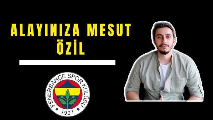 ALAYINIZA MESUT ÖZİL !!