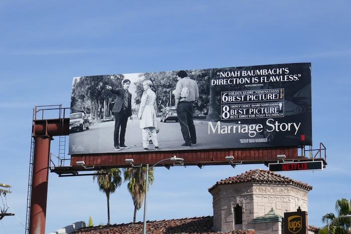 Marriage Story Noah Baumbach FYC billboard
