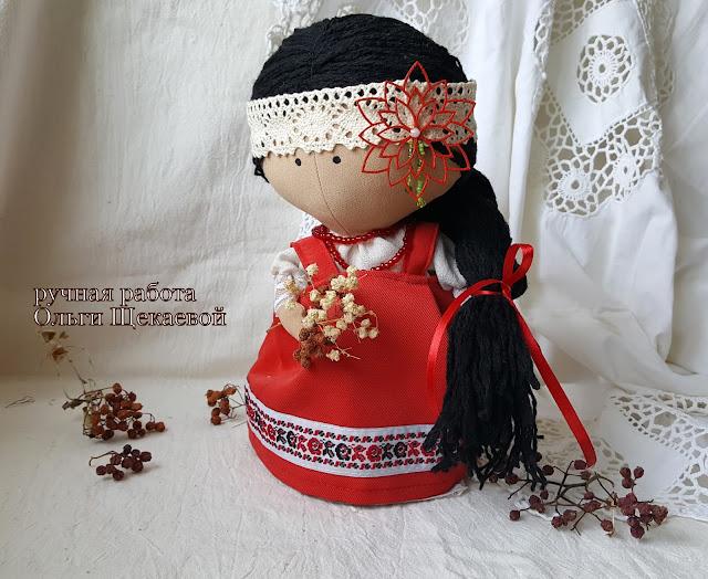 тильда малышка, кукла, интерьерная игрушка