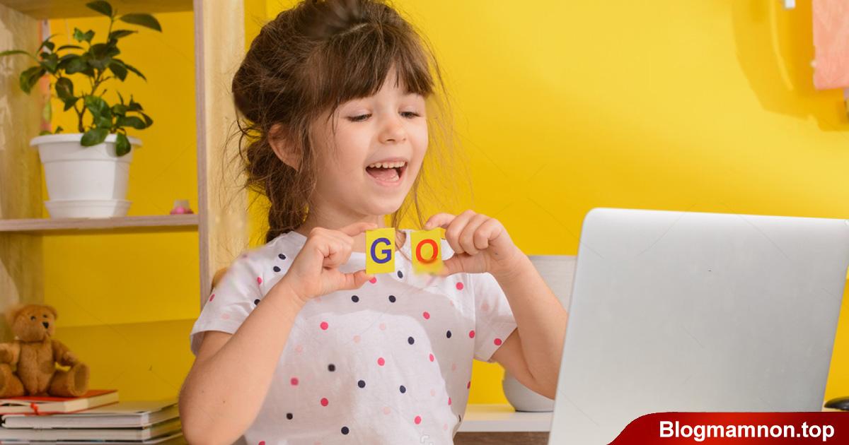 Trẻ mầm non rất thích tham gia các trò chơi.