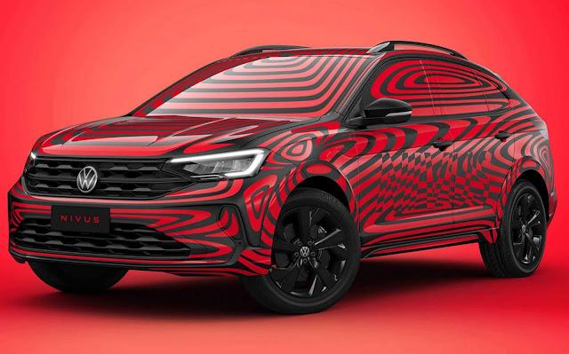 VW fará live dia 29 para revelar o multimídia do SUV Nivus