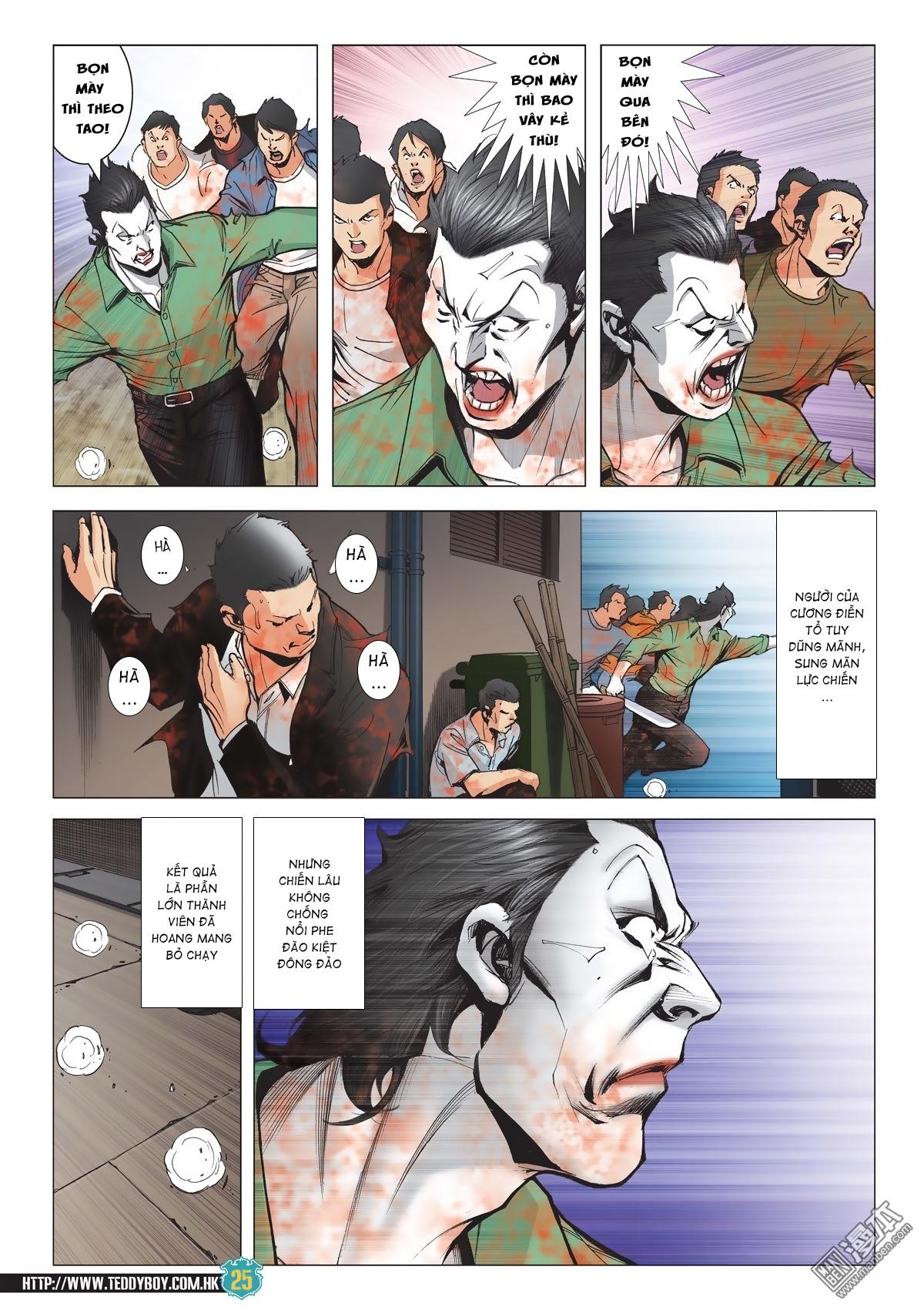 Người Trong Giang Hồ chapter 2038: thanh toán trang 24