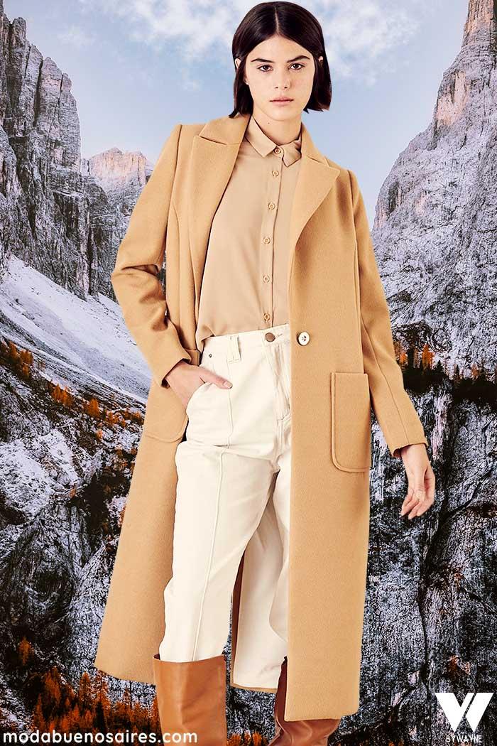 tapados invierno 2021 moda mujer