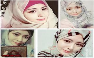 Ayana Moon Gadis Cantik Asal Korea Mantan Girlband Memilih Islam Dan Mulai Berhijab