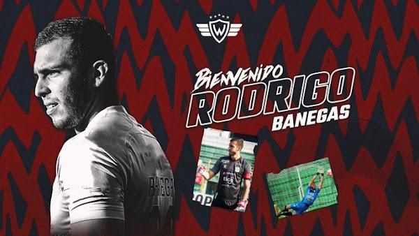 Oficial: Jorge Wilstermann, firma Rodrigo Banegas