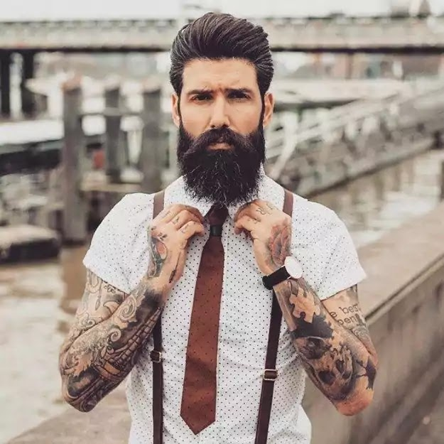 hipster style man