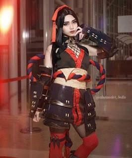 Cosplay Mobile Legend Hanabi