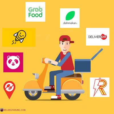 Senarai Servis Food Delivery Di Malaysia