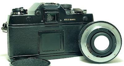 Contax RTS II Quartz #236, Yashica DSB 50mm 1:1.9 #345