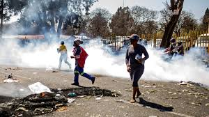 One killed 5 injured in latest violence in Johannesburg