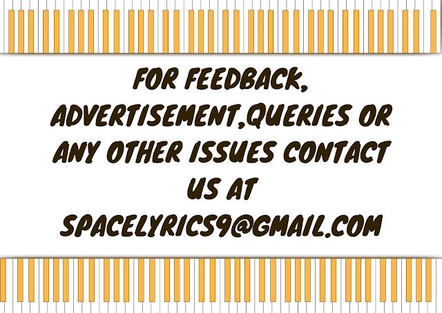 Contact Us @spacelyrics