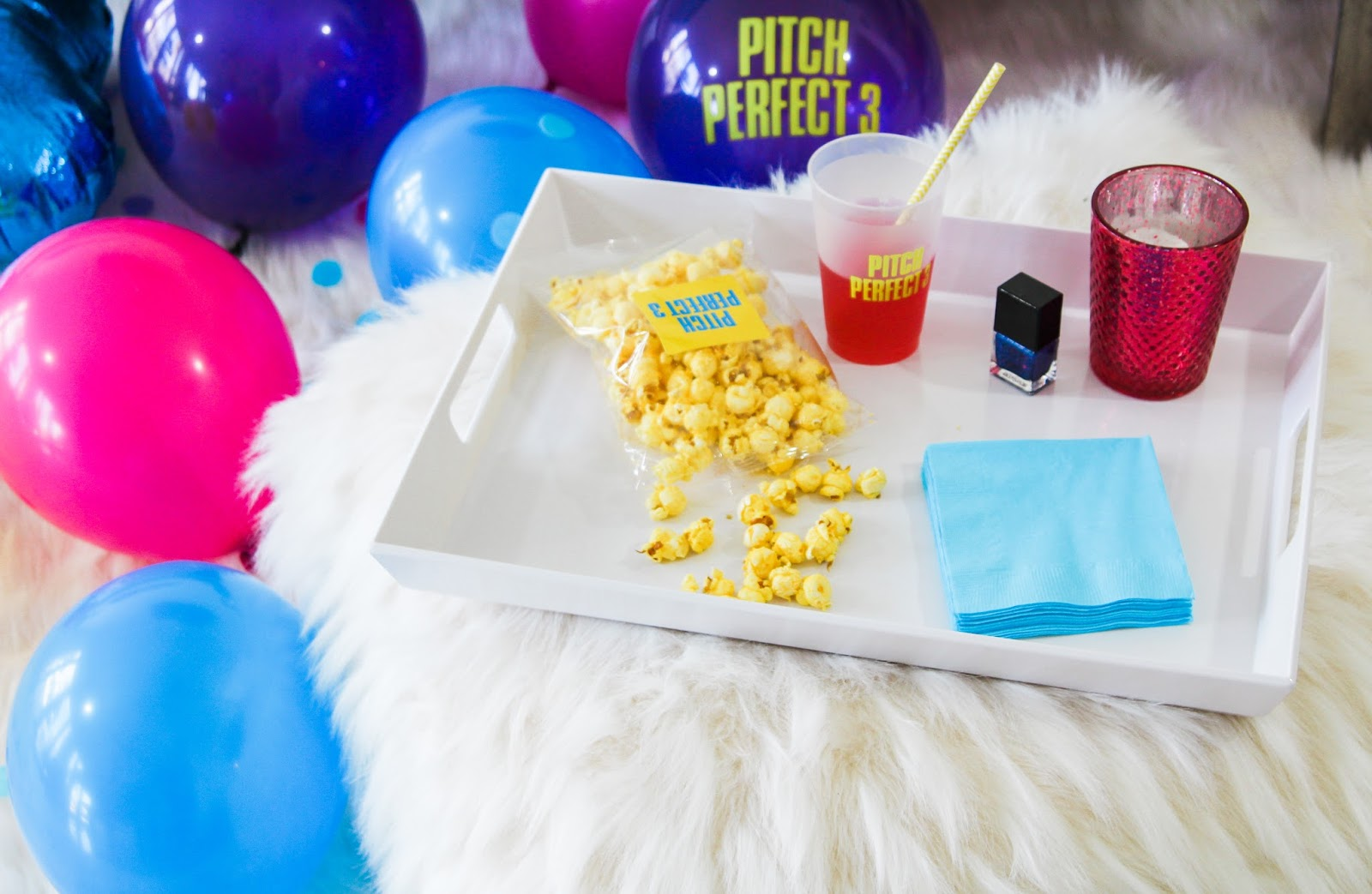 Pitch Perfect 3 Movie Party by popular South Florida party blogger Celebration Stylist