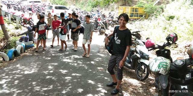 Pantai Punagaan Tempat Destinasi Favorit Masyarakat Selayar di Akhir Pekan